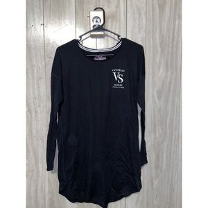 Victoria secret long sleeve night shirt